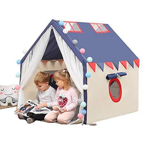 TYUI Spielzelt für Kinder Segeltuch Kinderzelt für die Mädchenjungen Indoor im Freien Kinderzelt