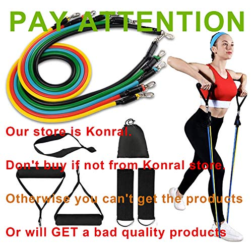 Exercise Resistance Bands Set Men With 5 Tubes,Latex Resistance Loop Straps,Hand Grips,Door Anchor,Foot Ring For Women Yoga,Crossfit,Men Gym,Home Workout Fitness Strength Training With Storage Bag