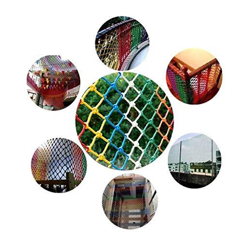 Kinderveiligheidsnet, veiligheidsnet, kinderbeschermingsnet, balkontrappen, anti-val, veiligheidsnet, voor buiten, hek-net, klimtouwnet, decoratienet, opbouwnet, tuinafdeknet 2 x 3 m, 4 m, 5 m decoratie