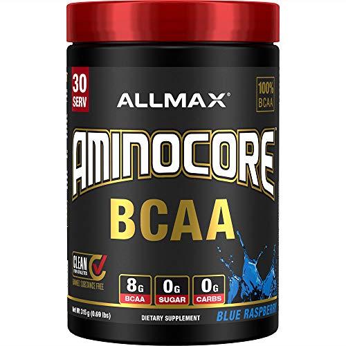 AllMax Nutrition Aminocore BCAA, Blue Raspberry, 404 g