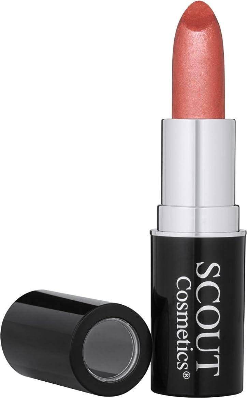 一我慢するボーダーSCOUT Cosmetics Organic Pure Colour Lipstick - # Spring Love 6g/0.2oz並行輸入品