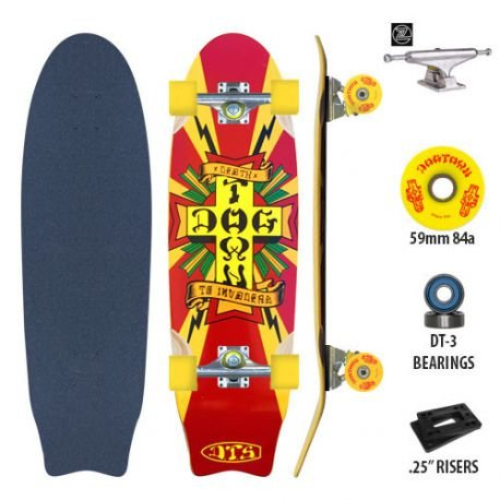 Dogtown Skateboard Mini Death to Invaders DGxST