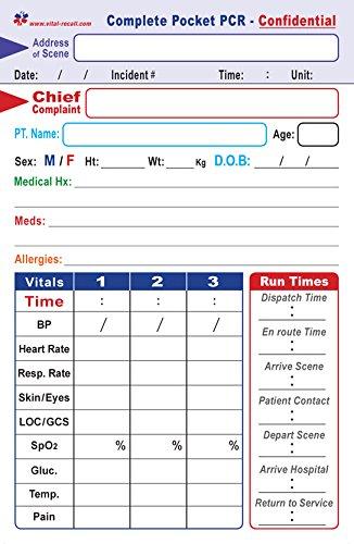 EMT Complete PCR Self-Guided Form - - 100 Pack