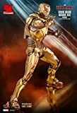 Iron Man Hot Toys 3 Movie Masterpiece Action Figure 1/6 Mark XXI Midas Hot Toys