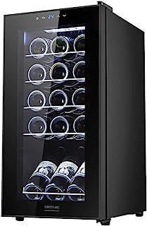 Cecotec Vinoteca GrandSommelier 15000 Black Compressor. 15 Botellas, Compresor, Alto Rendimiento garantizado, Temperatura ...