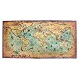 <span class='highlight'>HINK</span> Wall Stickers Vintage Nautical Ocean Sea World Map Sticker Paintings <span class='highlight'>Home</span> Decor Wall Art World Map Poster Sticker <span class='highlight'>Home</span> Decoration Big Sales