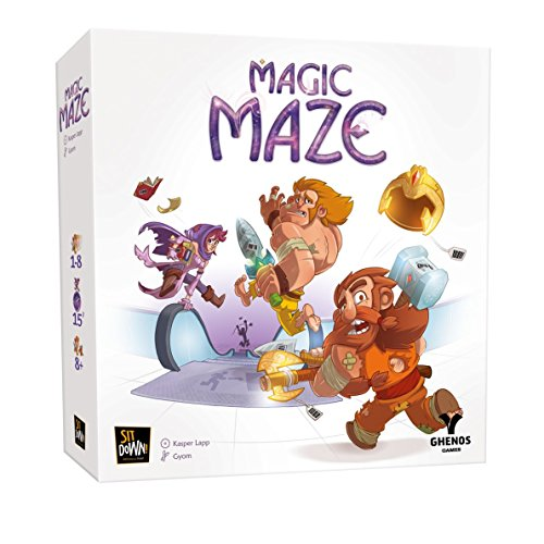 Ghenos Games ghe069 Magic Maze – Brettspiel