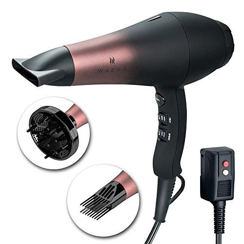 Wazor Salon Professional Hair Dryer with Ceramic Tourmaline Ionic &Powerful Blow Dryer,Far...