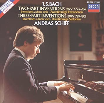 Bach, J.S.: Two and Three Part Inventions