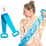 Best Back Scrubbers - Yomozone Silicone Back Scrubber for Shower, Extra Long Review