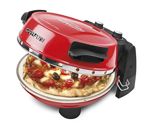 G3 Ferrari G10032 1pizza(e) 1200W Nero, Rosso macchina e forno per pizza