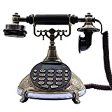 YANGYUAN Teléfono Fijo, Pasado de Moda de Voz del teléfono de Escritorio teléfono de marcación rápida Consulta Registros de informes
