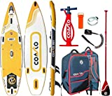 COASTO Argo 11.0 Sup Tabla Stand Up Paddle Surf-Board Hinchable Remos Isup 335x84cm