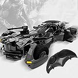 Batman Télécommande Justice Car Hero électrique Drift haute vitesse voiture de sport de charge Chariot modèle Jouets for enfants Anniversaire Nouvel An Décoration cadeau Collection Décorations liuchan