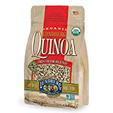 Contains 1 - 16 Ounce Bag of Lundberg Family Farms Tri Color Quinoa Made with whole grains USDA Organic Gluten Free, Non GMO Project Verified Family-owned and operated since 1937