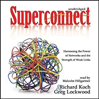Superconnect audiobook cover art