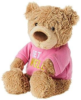 GUND Get Well T-Shirt Teddy Bear Stuffed Animal Plush Pink 12.5