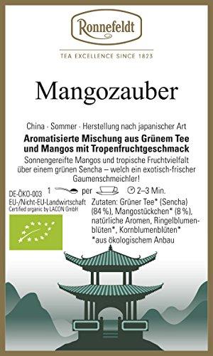 Ronnefeldt - Mangozauber - Aromatisierter grüner Tee - bio - 100g - loser Tee