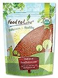 Organic Red Quinoa, 1 Pound - Non-GMO, Kosher, Raw, Sproutable, Vegan, Sirtfood