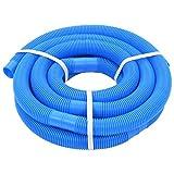 vidaXL Manguera Piscina Azul 38 mm 6 m Mantenimiento Terraza Patio Jardín Casa