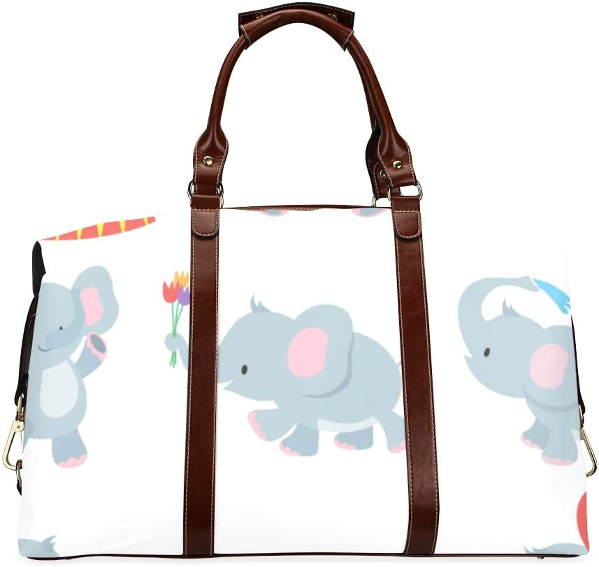 Mens Duffel Bag Cute Elephant Oversized Classic Wat Baby Sales of SALE items from OFFicial site new works Cartoon