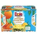 Dole Juice, Pineapple Orange, 6 Ounce (Pack of 48)