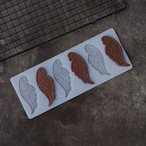 MNBV vleugels vorm chocolade stencil schimmel taart decoreren chocolade