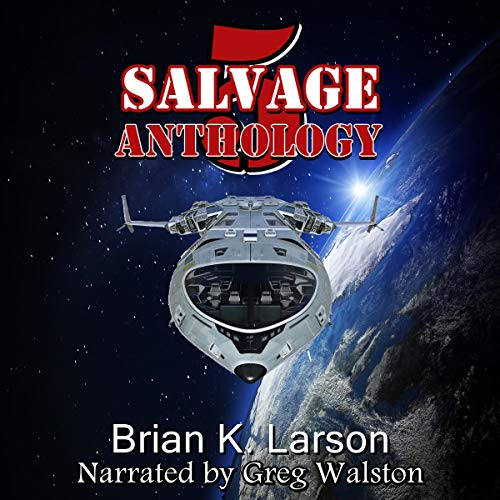 Salvage-5: Anthology cover art