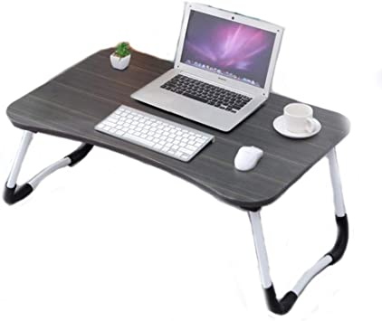 YUEMING Mesa Plegable para Laptop,Cama de Escritorio para Laptop,Soporte para port/átil con Marco de Lectura,Escritorio Port/átil Rosa 1 Bandeja Plegable de Sof/á para Desayuno