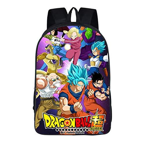 Mochila Dragon Ball, 3D Super Goku Anime Cosplay Mochila Infantiles Mochila Dragon Ball...