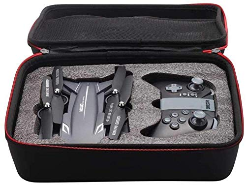 Bolsa de almacenamiento de viaje portátil Funda de transporte de cuerpo de dron a prueba de agua Bolsa de hombro de transporte de drones RC Drone para VISUO XS816 XS809 XS809S XS816 RC Drone(Upgra