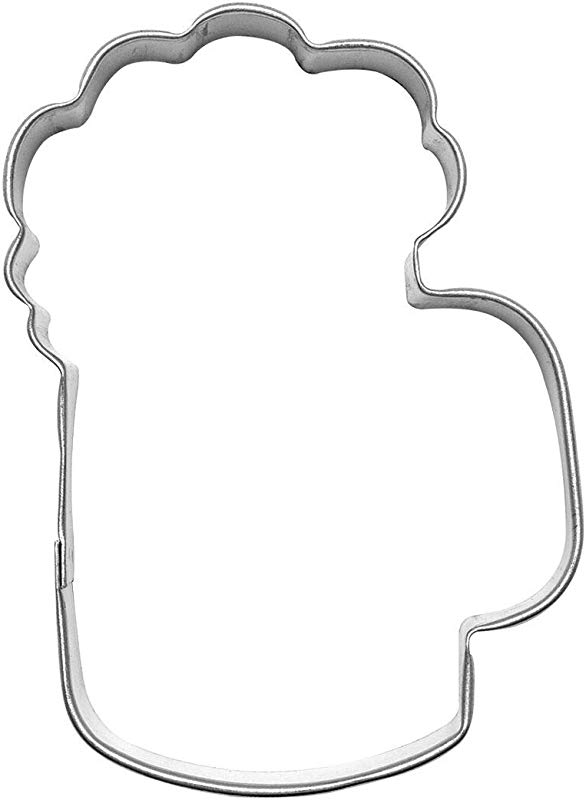 Beer Mug 3 5 Cookie Cutter