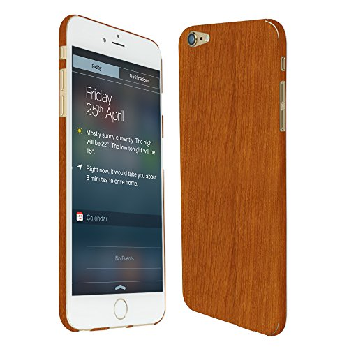 Skinomi Light Wood Full Body Skin Compatible with Apple iPhone 6 Plus...
