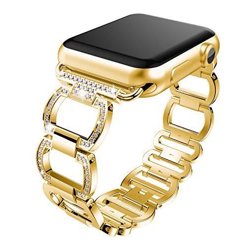 NotoCity 2019新しいapple watch クォーツバンドファッションapple watch水晶バンド Apple Watch Series4 S...