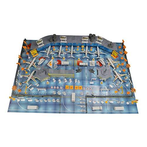 Almencla Modelos de Aviones de Avión de Aeropuerto de Simulación para Niños, Adultos, Niños, Regalos