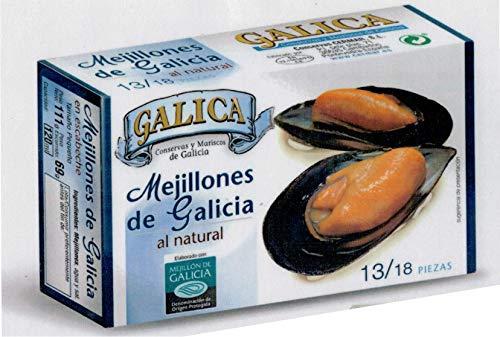 MEJILLONES DE GALICIA AL NATURAL 13/18 GALICA