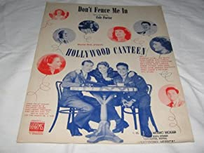 COLE PORTER DON'T FENCE ME IN 1944 SHEET MUSIC shhet music FOLDER 15