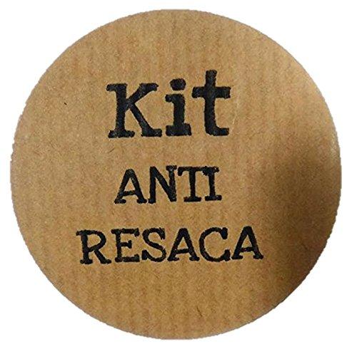 100 etiquetas adhesivas KIT ANTI RESACA