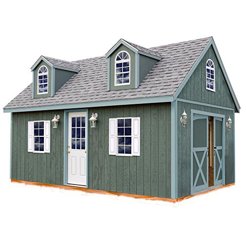 Arlington 12 ft. x 20 ft. Wood Storage Shed Kit