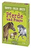 moses. Trumpfen Spiele Quizzen Pferde und Ponys   Juego de Cartas para niños a Partir de 8 años