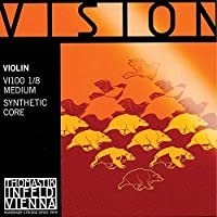 Thomastik Vision 1/8 Violin String Set - Medium Gauge [並行輸入品]