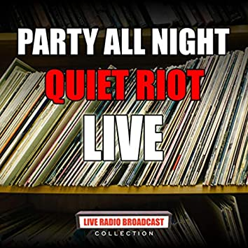 Party All Night (Live)