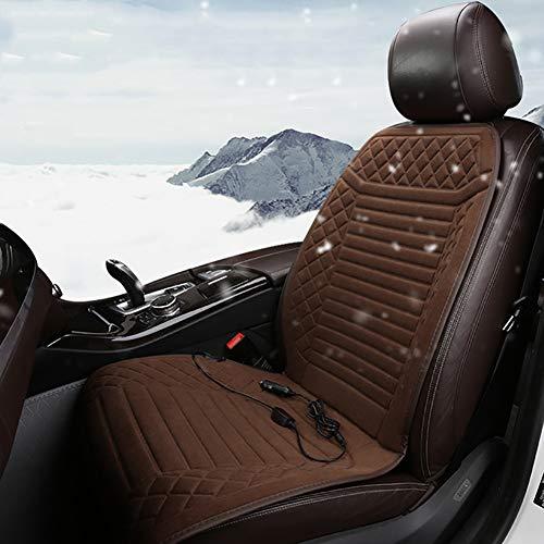 Xingxings Autostoelhoezen, verwarmingskussen, universeel zitkussen, 12 V, verwarming in de winter met Easy Controller, warm, veiligheid voor auto, huis, kantoor