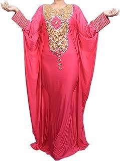 Allena - Fitted Batwing 04 - Handbeaded Kaftan, Dress, Abaya