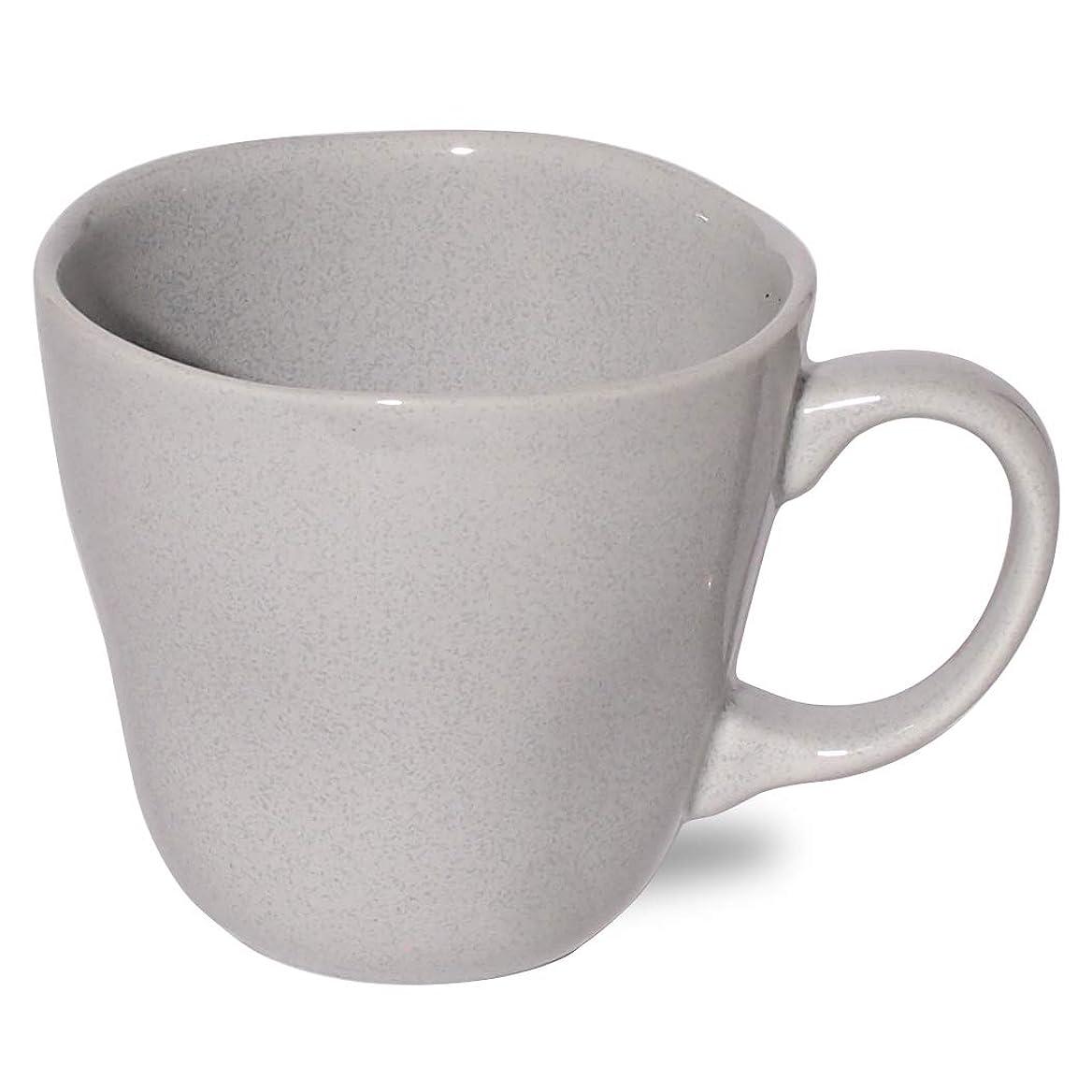創造補正腹痛マルサン近藤(Marusankondo) マグカップ グレー φ9×H9cm 美濃焼 グレース マグカップ グレー