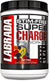 Labrada Nutrition Super Charge Pre-Workout Advanced Pump and Endurance Formula, Fruit Punch, 675 Gram
