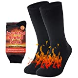 Warm Socks for Men, RTZAT Thermal Thick Fuzzy Fluffy Heated Insulated Heavy Fleece Extremes Cold...