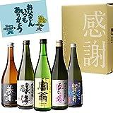 すべて純米大吟醸 720ml×5本セット 飲み比べ 詰め合わせ 日本酒 セット プレゼント 贈答 贈り物 4合瓶 長S