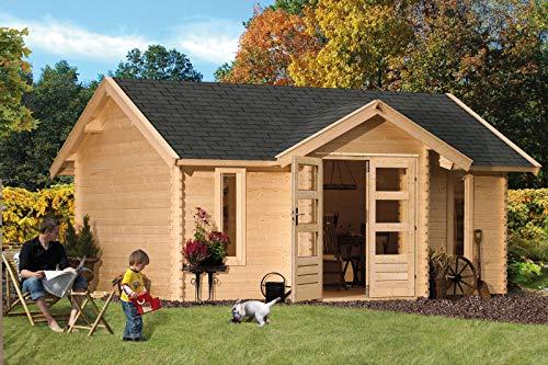 Unbekannt Karibu Gartenhaus Nordland Blockbohle 40 mm