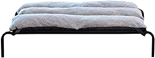 XLHJFDI Elevated Cooling Pet Bed Four Seasons Universal, Washable Waterproof Large Camping Dog Bed (Size : S)
